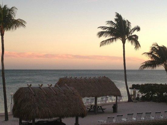 Continental Inn: Sunset view
