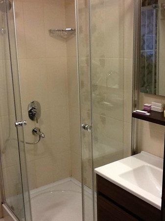 Aristocrat Hotel:                                     En Suite Shower