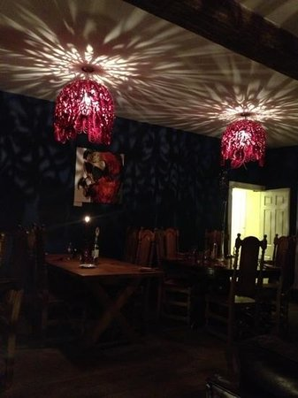 The Old Bath Arms:                   The lovely blue room