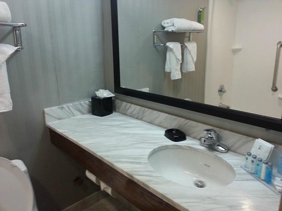 Hampton Inn Manhattan-Seaport-Financial District :                   Vanity/Sink