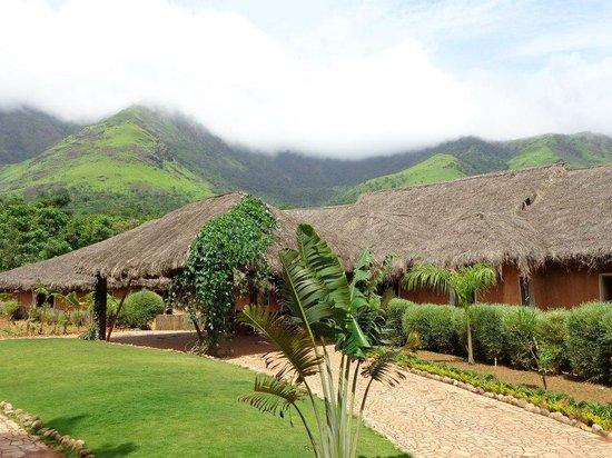 Banasura Hill Resort:                   Enterance....!!