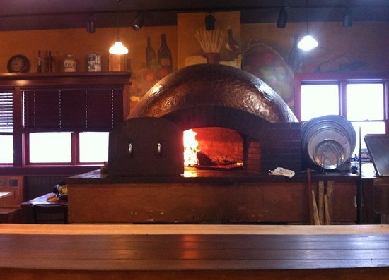 Sama's Cafe:                   the wood-fired oven