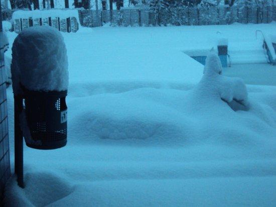 Hotel Balnea Superior:                   Nevicata della notte