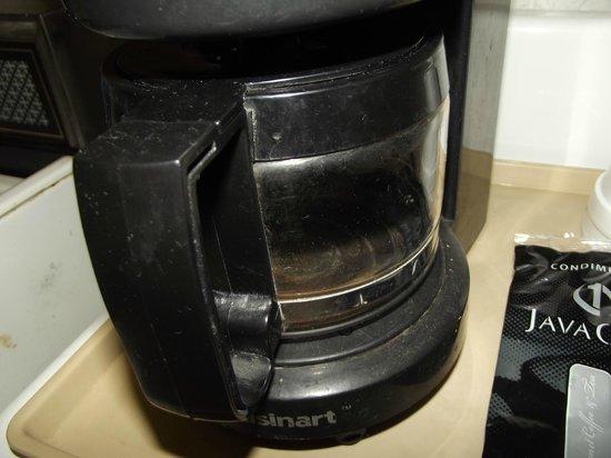 The Inn at Salmon Creek :                   coffee pot in kitchen area