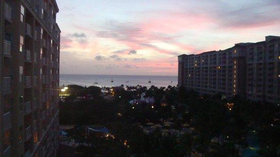 Marriott's Aruba Surf Club:                   Vista desde la habitación en el piso 8