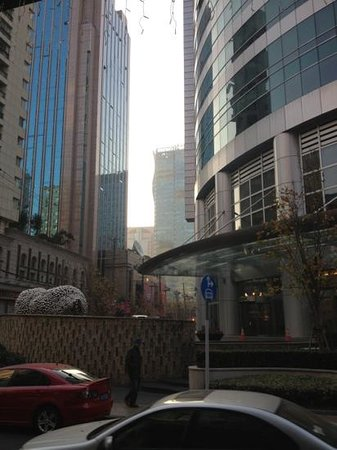 The Yangtze Boutique Shanghai:                   Straight forward view from entrance