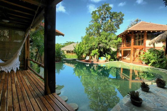 Pranamar Villas and Yoga Retreat: poolside villa views of swimming pool