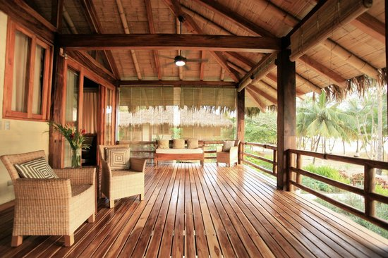 Pranamar Villas and Yoga Retreat: ocean front luxury villa deck