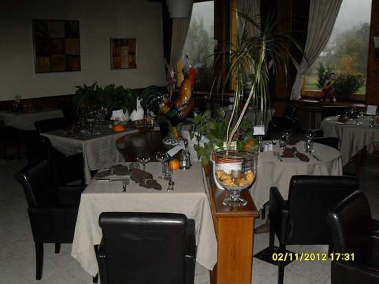 Hotel aux Deux Clefs: Salle à manger