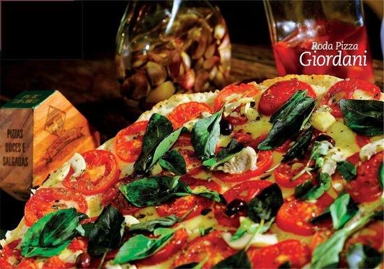 Rodapizza Giordani: Pizza Margherita.