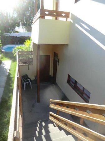 Apartamentos Miami Playa:                   The entrance of apt 6b