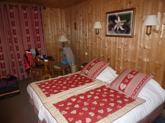 Hotel La Clef des Champs : chambre