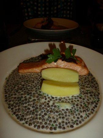 Hotel La Clef des Champs : petit plat...
