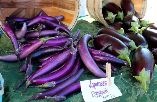 Sarasota Farmers Market:                   lots of veggies