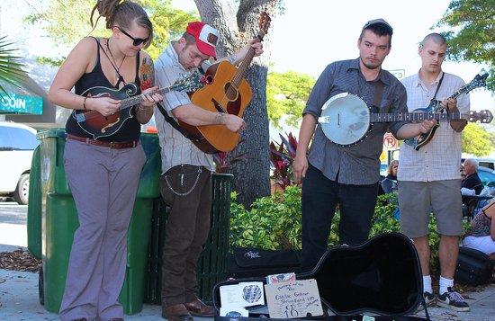 Sarasota Farmers Market:                   Folk Music