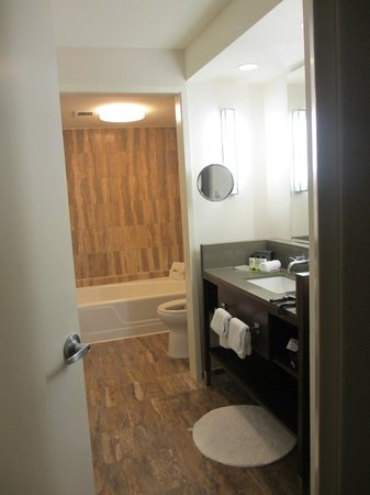 InterContinental Miami:                   large bathroom, walk in shower on left (not in pic)