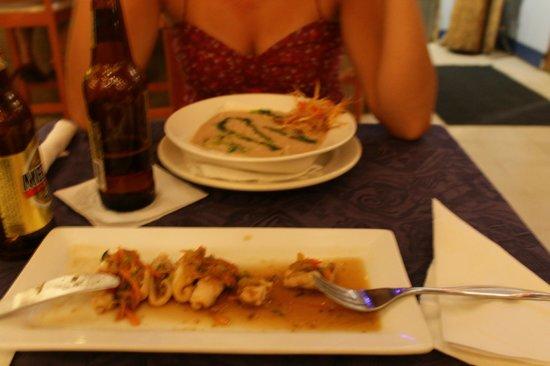 Susie's restaurant:                   Entradas en Susie's