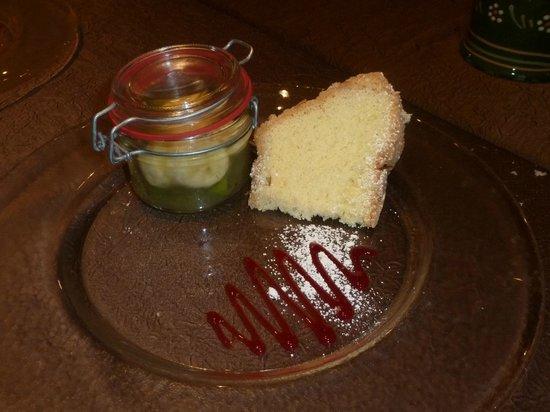 Hotel La Clef des Champs : Petite gourmandise...