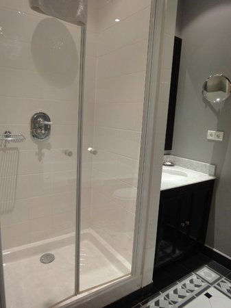 Champs Elysees Plaza Hotel : Douche