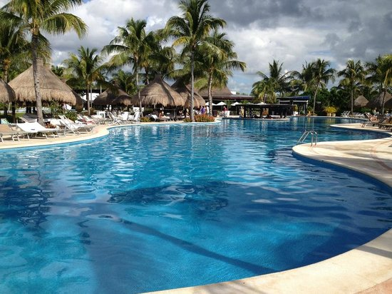 The Grand Mayan Riviera Maya:                                     Pool Areas