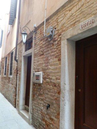 Residenza Ca' San Marco:                   la puerta