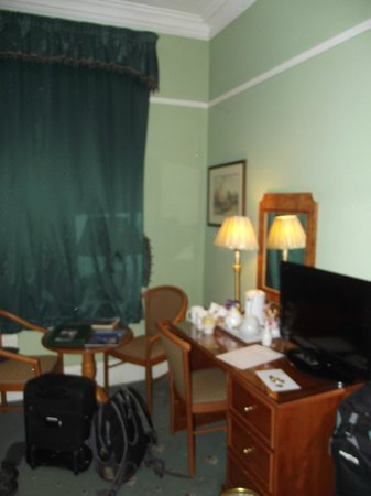 9 Green Lane:                   Desk and Table (Room 2)
