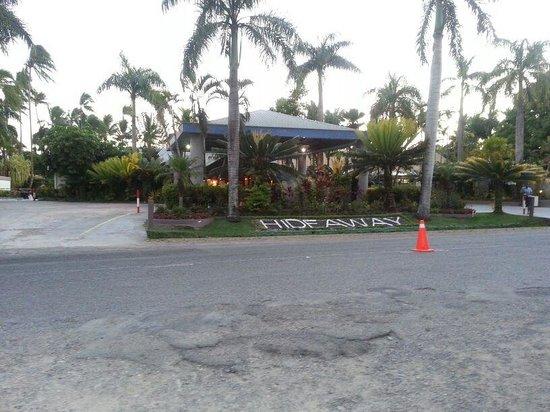 Fiji Hideaway Resort & Spa:                   Street view of the hotel