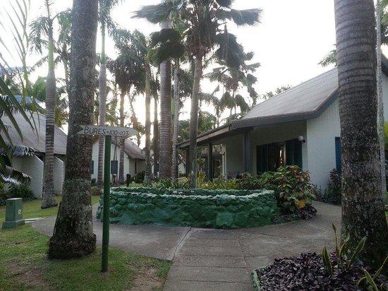 Fiji Hideaway Resort & Spa:                   Immediately outside our room