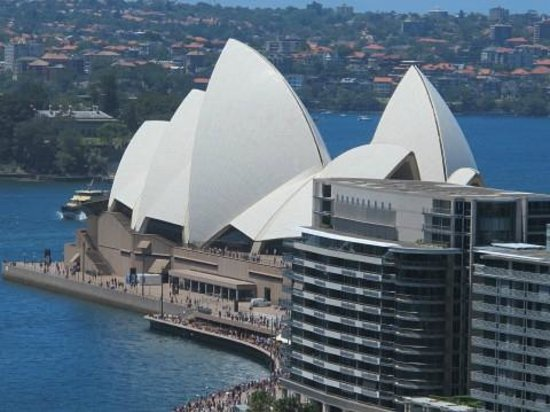Marriott Sydney Harbour at Circular Quay: Vue opéra - chambre 2124