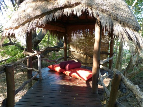 Makalali Private Game Lodge:                   Chillout area