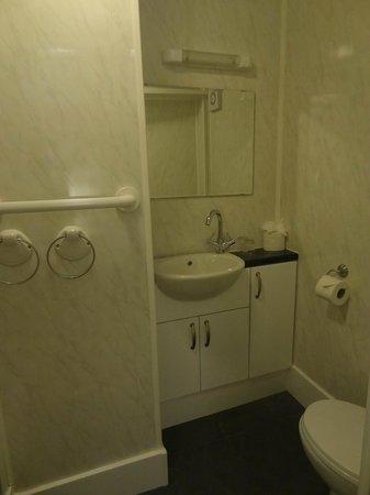 The Edward Hotel: Bathroom with handrails