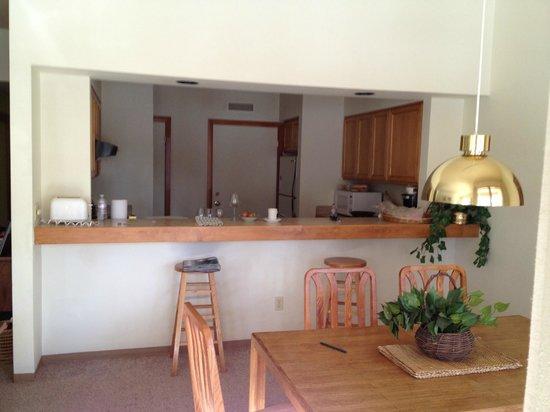 Aspen Ridge Condominiums:                   Kitchen area