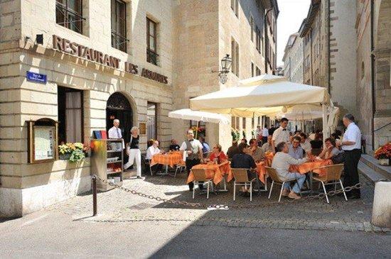 Hotel Les Armures: Restaurant