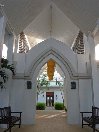 Thanyapura Health & Sports Resort :                                                       View inside the Retreat Centre