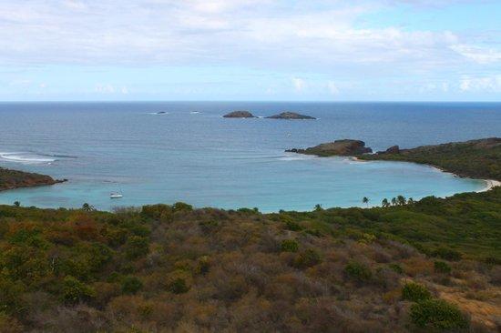 Culebrita Island:                   Vista desde el faro