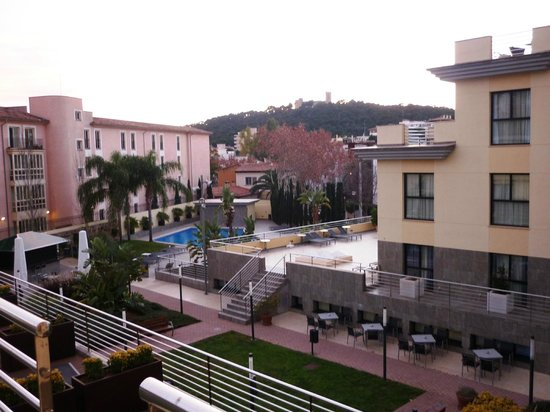 Hotel Isla Mallorca & Spa:                   Our view of Mallorca