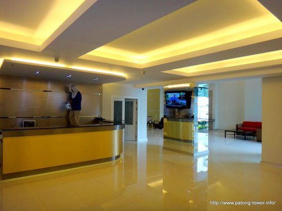 Patong Tower Holiday Rentals : THE BRAND NEW LOBBY