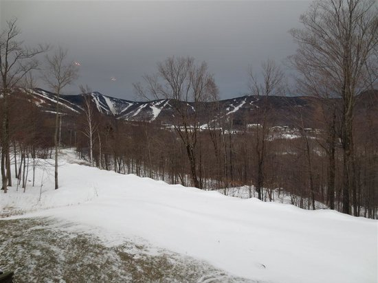 Highridge Condominiums :                   The view of the ski resort from A-16