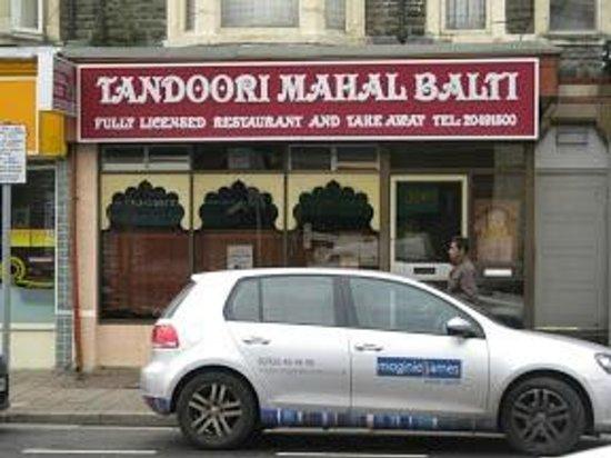 Tandoori Mahal Indian Resturant:                   Full of Eastern Promise...