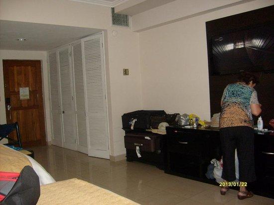 El Panama Hotel:                   Habitación, Hotel El Panamá