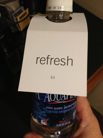 Hyatt Rosemont :                   Some really good water