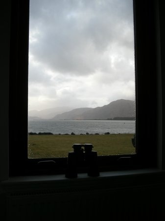 Lochview Guesthouse:                   loch view from Sallachan