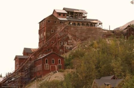 McCarthy Lodge & The Ma Johnson's Hotel: Historic ghost towns