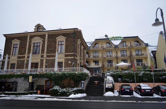 Weinhotel St. Stephanus:                   Vue extérieure de l'hôtel