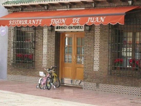 Restaurante Figon de Juan:                   entrada al restaurante