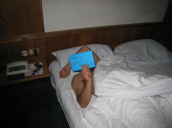 Sporthotel Kurzras: il letto