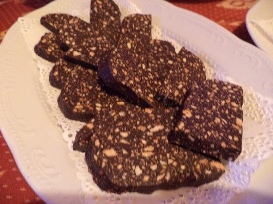 B&B La Perla del Sile: Dolce al Cioccolato