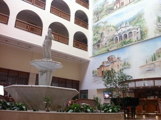Aleksandar Palace:                   lobby