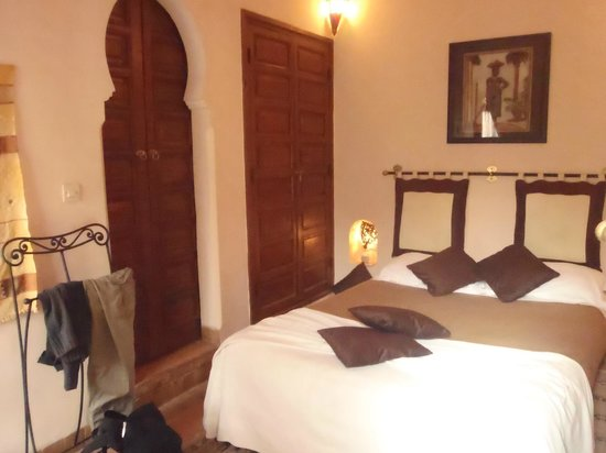 Riad Amina:                   chambre en étage
