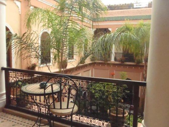 Riad Amina:                   chambre étage